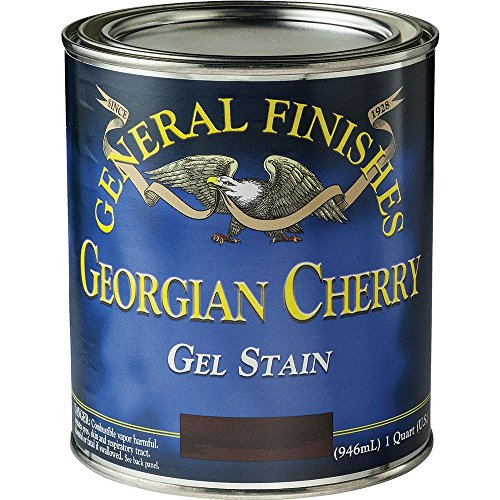 General Finishes GCH Gel Stain, half pint, Georgian Cherry