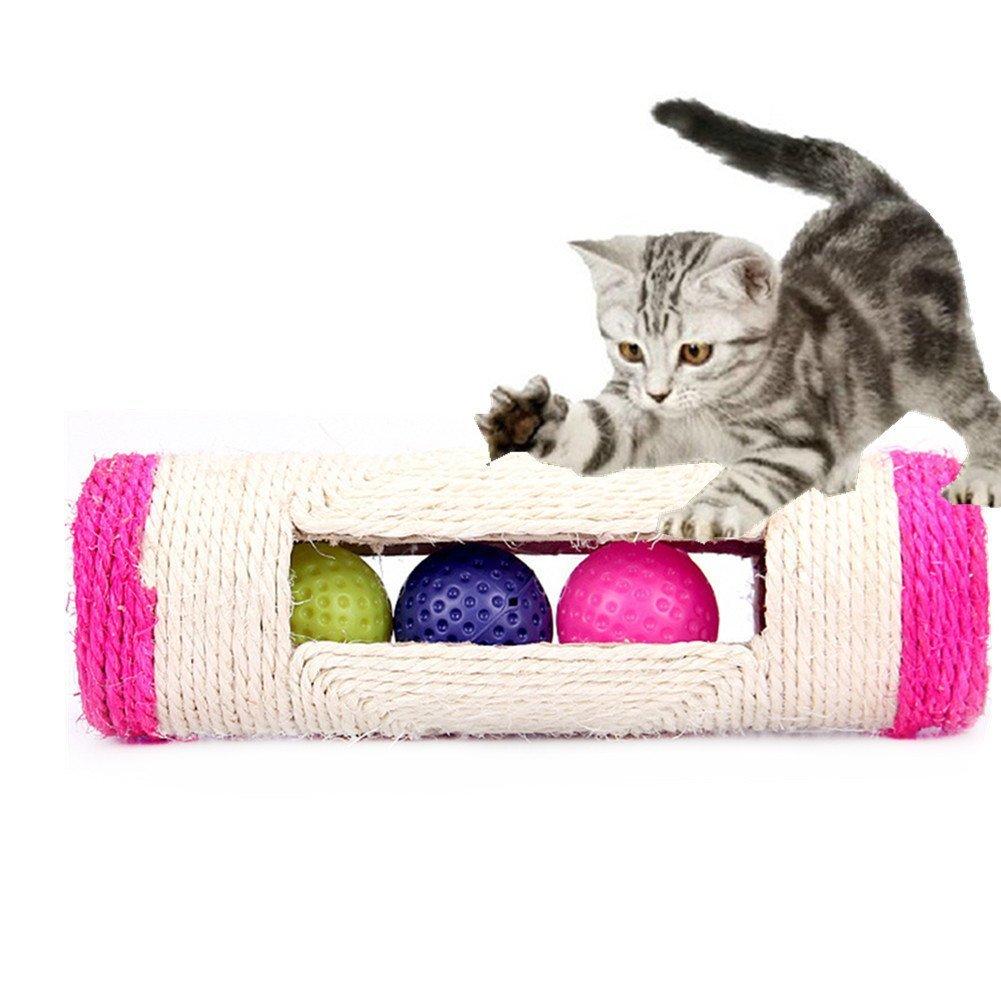 Wskderliner - Juguetes para rascar gatos con 3 bolas en el interior: Amazon.es: Productos para mascotas