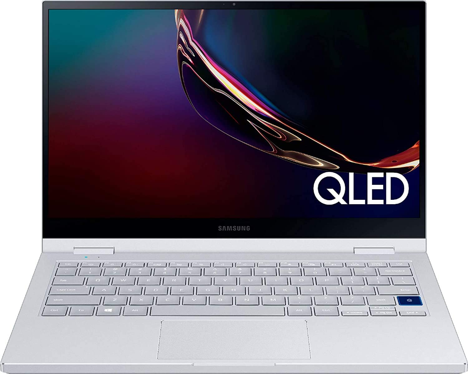 "2020 Samsung Galaxy Book Flex Alpha 2-in-1 13.3"" QLED FHD Touchscreen Laptop Computer, 10th Gen Intel Quard-Core i7-10510U, 12GB DDR4, 1TB PCIe SSD, Windows 10, iPuzzle Mousepad, Online Class Ready"