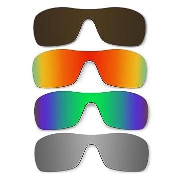 4 par de gafas de sol lentes polarizadas para Oakley Antix Pack de repuesto P3