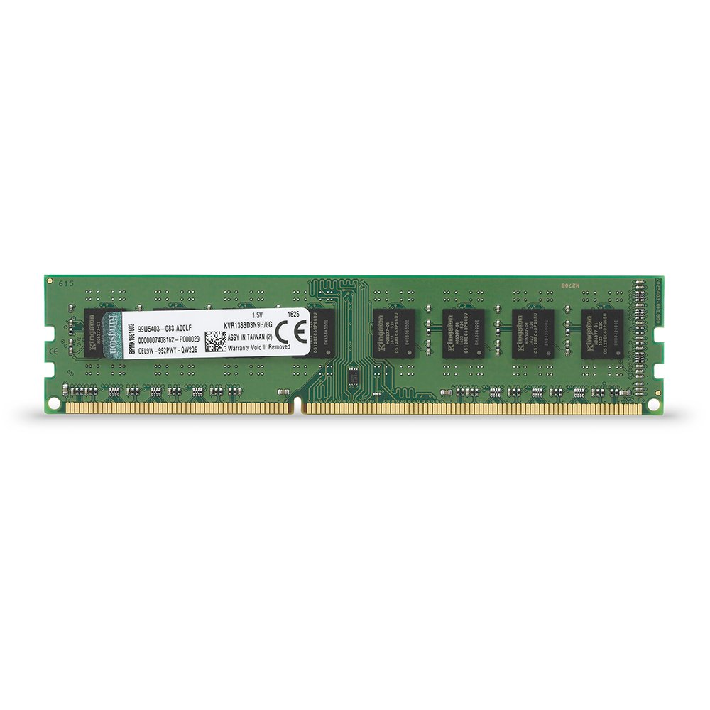 Kingston Kvr1333d3n9h 8g Ram 8go 1333mhz Ddr3 Non Ecc Cl9 Dimm 240 Innodisk Server Memory 8gb 1600 Pce 12800 1x8g Pin 15v Informatique