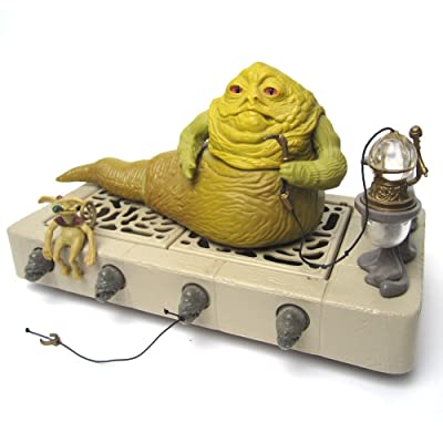 Jabba the Hutt Dungeon Star Wars Return of the Jedi Vintage Kenner Playset #1: Toys & Games