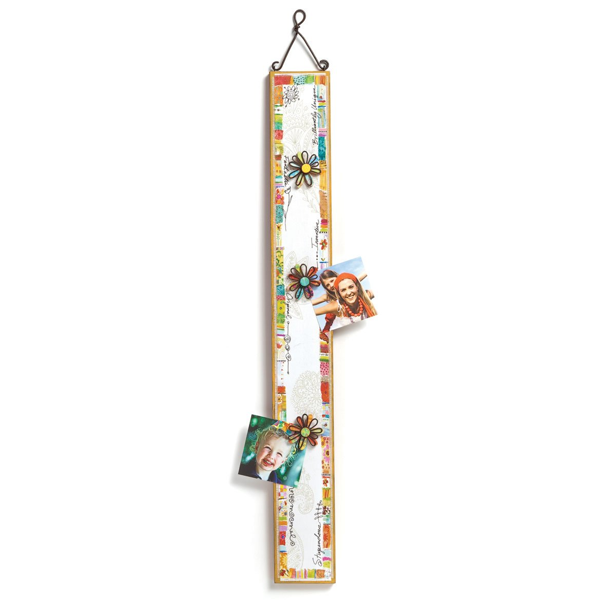 DEMDACO Wonderfully Quirky Photo Strip with Magnets, 3 by 25-Inch