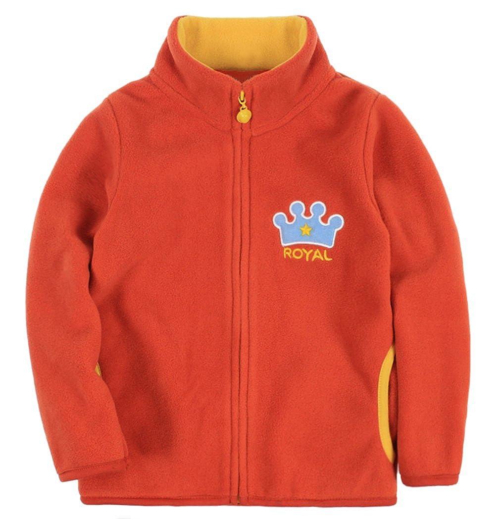 Dalary Baby Boys Zipper Cartoon Light Soft Hoody Jacket Outerwear