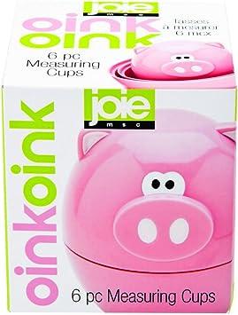 Joie MSC oinkoink Oink Oink Pink Pig Egg Cup /& Spoon New