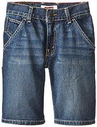 Levi\'s Boys\' Holster Denim Shorts,Dusty Vintage, 14