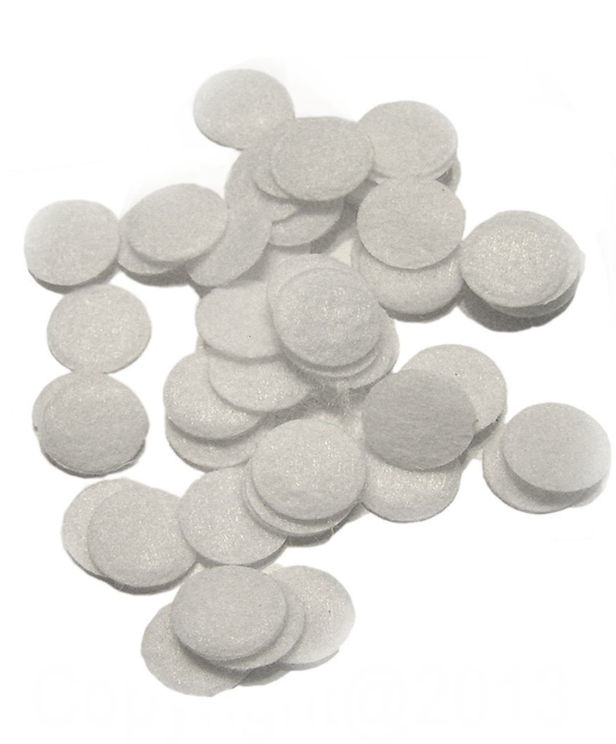 Microdermabrasion Accesories - Premium 18mm Cotton Filters (250pcs)