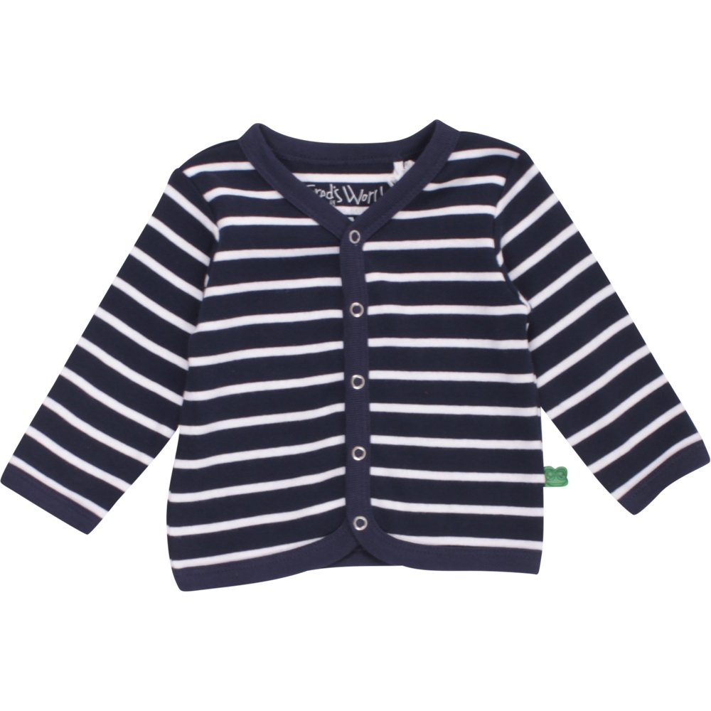 Fred's World by Green Cotton Jungen Strickjacke Stripe Cardigan