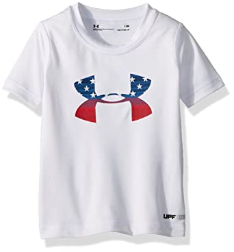 Amazon Com Under Armour Baby Boys Ua Stars And Stripes Big Logo Su