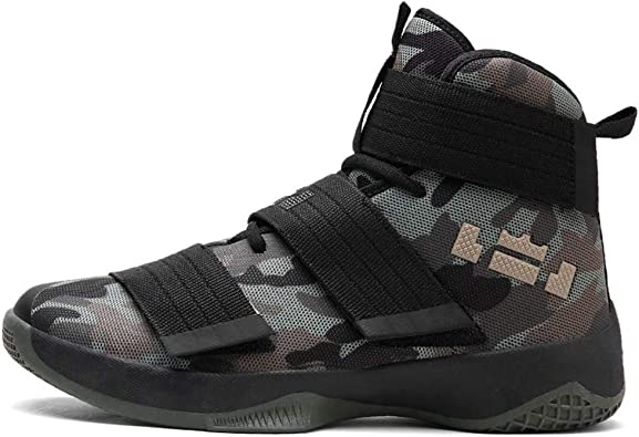 IDNG Chaussures Basket Chaussures De Basket Ball pour Hommes
