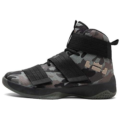 IDNG Zapatillas Baloncesto Zapatillas De Baloncesto para Hombre Unisex Sneakers Ball: Amazon.es: Zapatos y complementos