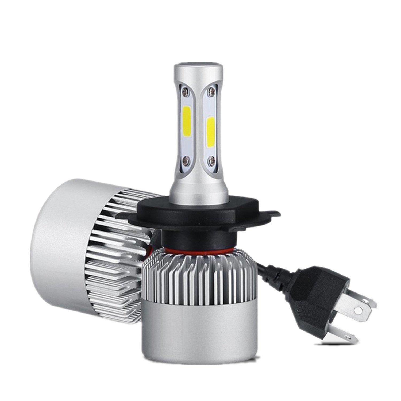 FEZZ Auto Ampoules LED Phares Avantss H4 COB Chips 72W 8000LM 6000K avece Conversion Kit Hi Lo Beam avec Fan hot sale