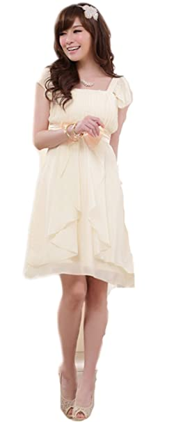 Caliente venta cóctel fiesta Prom Vestido Vestido de noche vestido de novia lazo OL Lotus manga