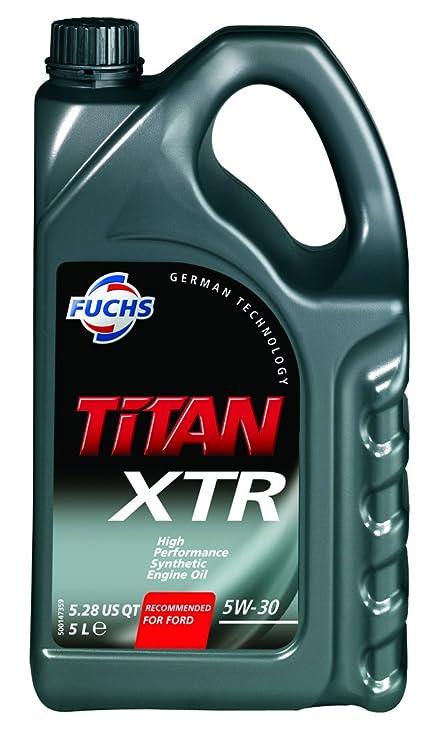 Aceite de motor Titan XTR 5W30, 5 L: Amazon.es: Coche y moto