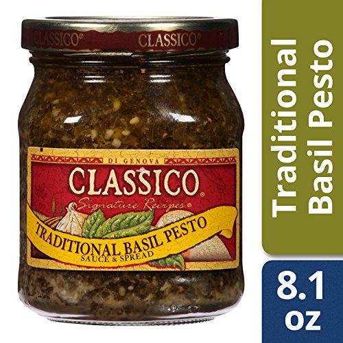 Classico, Sauce & Spread, Traditional Basil Pesto, 8.1 (Pesto Sauce)