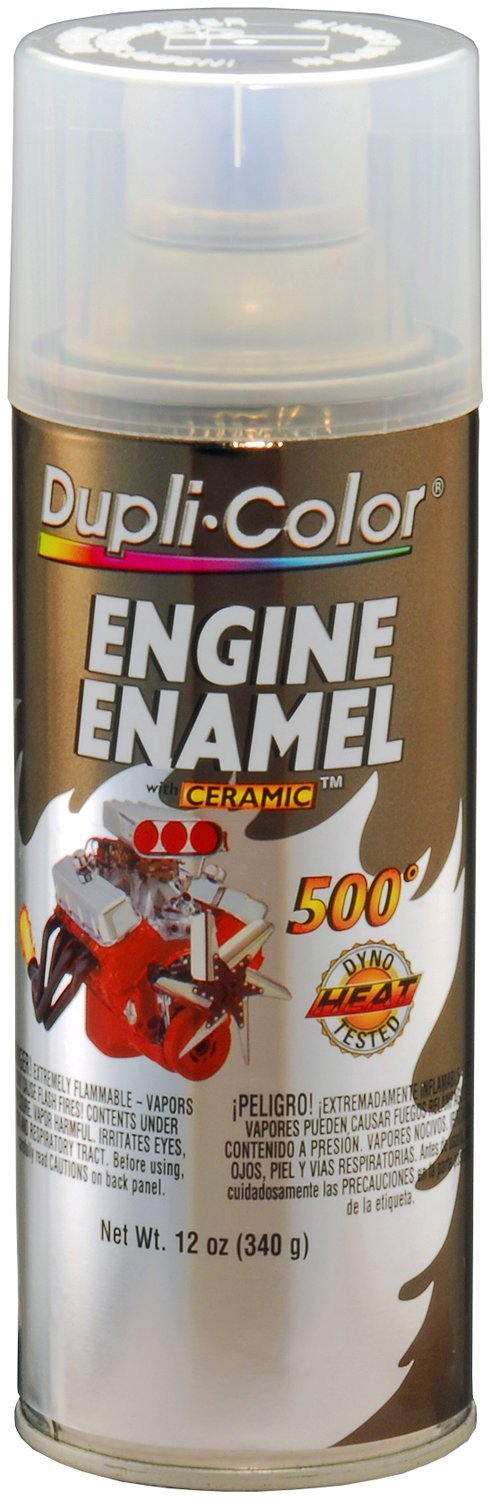 Dupli-Color EDE163607 Ceramic Clear Engine Paint - 12 oz.