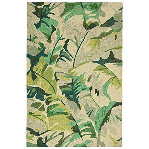 Liora Manne Monaco Tropical Frond Rug, Green, Indoor/Outdoor, 24
