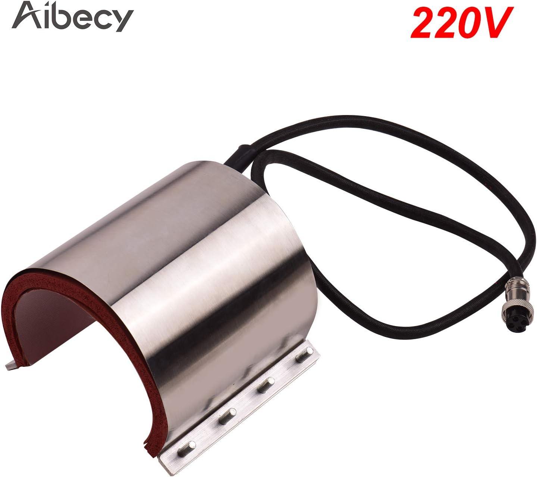 110V for Heat Press Machine Transfer Sublimation Aibecy Mug Cup Press Heating Transfer Attachment Silica Gel 9oz 1219cm