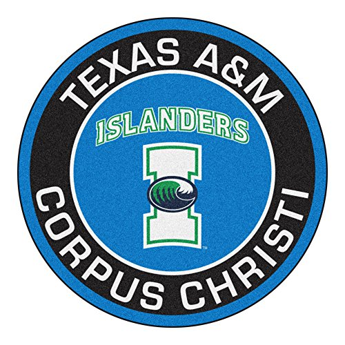 (FANMATS NCAA Texas A&M - Corpus Christi Islanders Roundel Mat, Team Color, One Size)