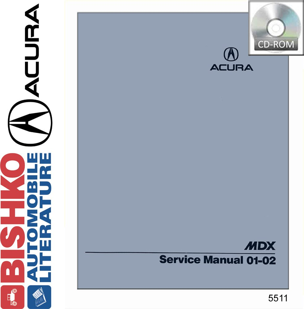 Amazon.com: 2001 2002 Acura Mdx Shop Service Repair Manual CD Engine  Drivetrain Wiring OEM: Automotive