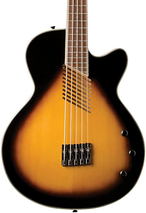 Washburn Guitarra acústica/eléctrica serie ab45vsk Guitars Fretless – Bajo electroacústico