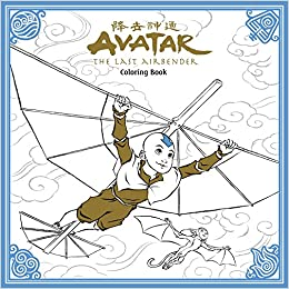 Avatar: The Last Airbender Colouring Book por Nickelodeon