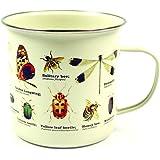 Gift Republic Tasse Les Insectes, émail, multicolore