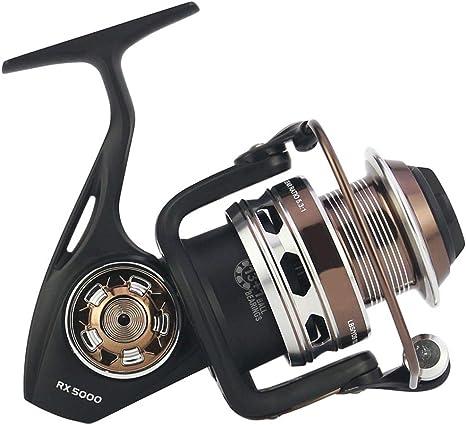 Carretes de Pesca Ligeros y Lisos. Freno de 25 kg Spinning Fishing ...