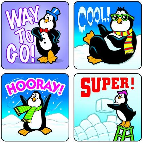 Carson Dellosa Penguins Motivational Stickers (0624)
