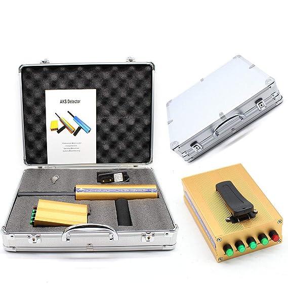 Z&Y Detector de Metales Gold AKS Detector de Metales Localizador Digger Detector de Metales 800m: Amazon.es: Jardín