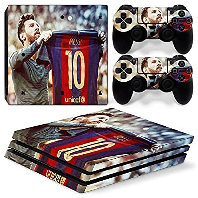 GoldenDeal PS4 Pro Skin and DualShock 4 Skin - Soccer 10 - PlayStation 4 Pro Vinyl Sticker for Console and Controller Skin