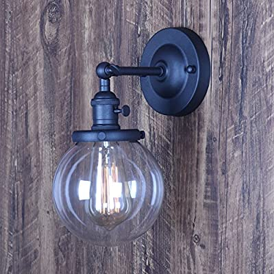 XIDING industrial Edison Wall Sconce lighting fixture