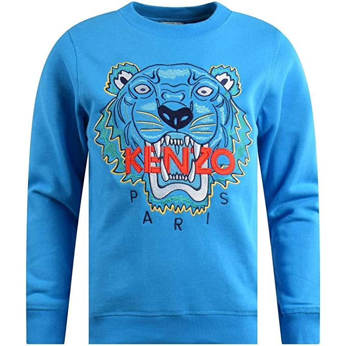 a47f32d008 Kenzo Felpa Girocollo Tiger: Amazon.it: Abbigliamento
