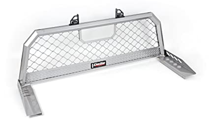 Amazon Com Dee Zee Dz95050w Aluminum Mesh Cab Rack Automotive