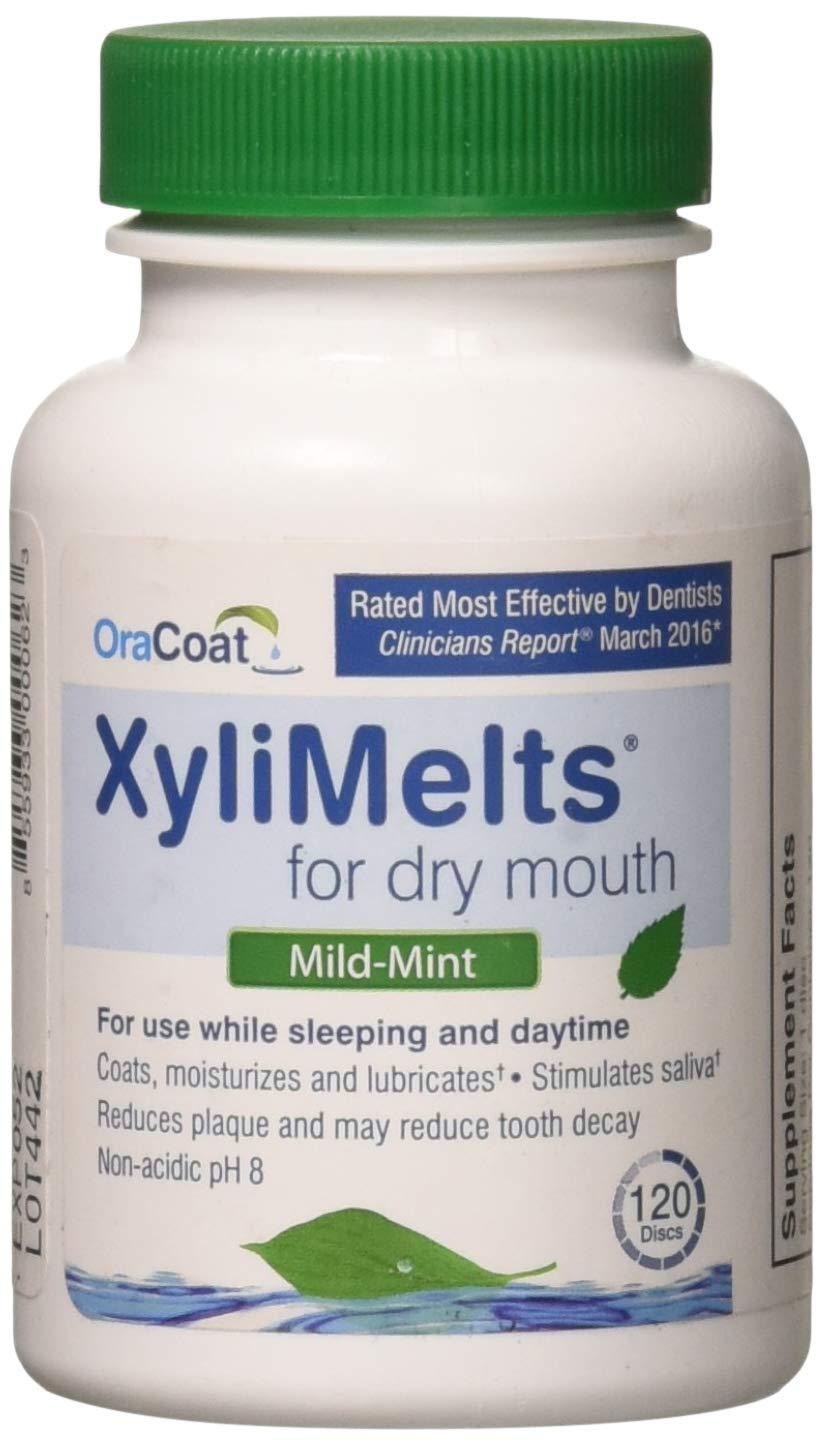 Oracoat Xylimelts Bottle, Mild Mint