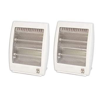 Aliespain Estufa Halógena 800W Dos Barras (Pack x 2): Amazon ...