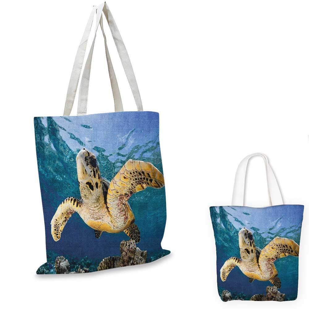 TurtleGreen タートル水泳 水中 日光浴 アクアティック 野生動物 画像 アクアダークブルー ペールブラウン。 12