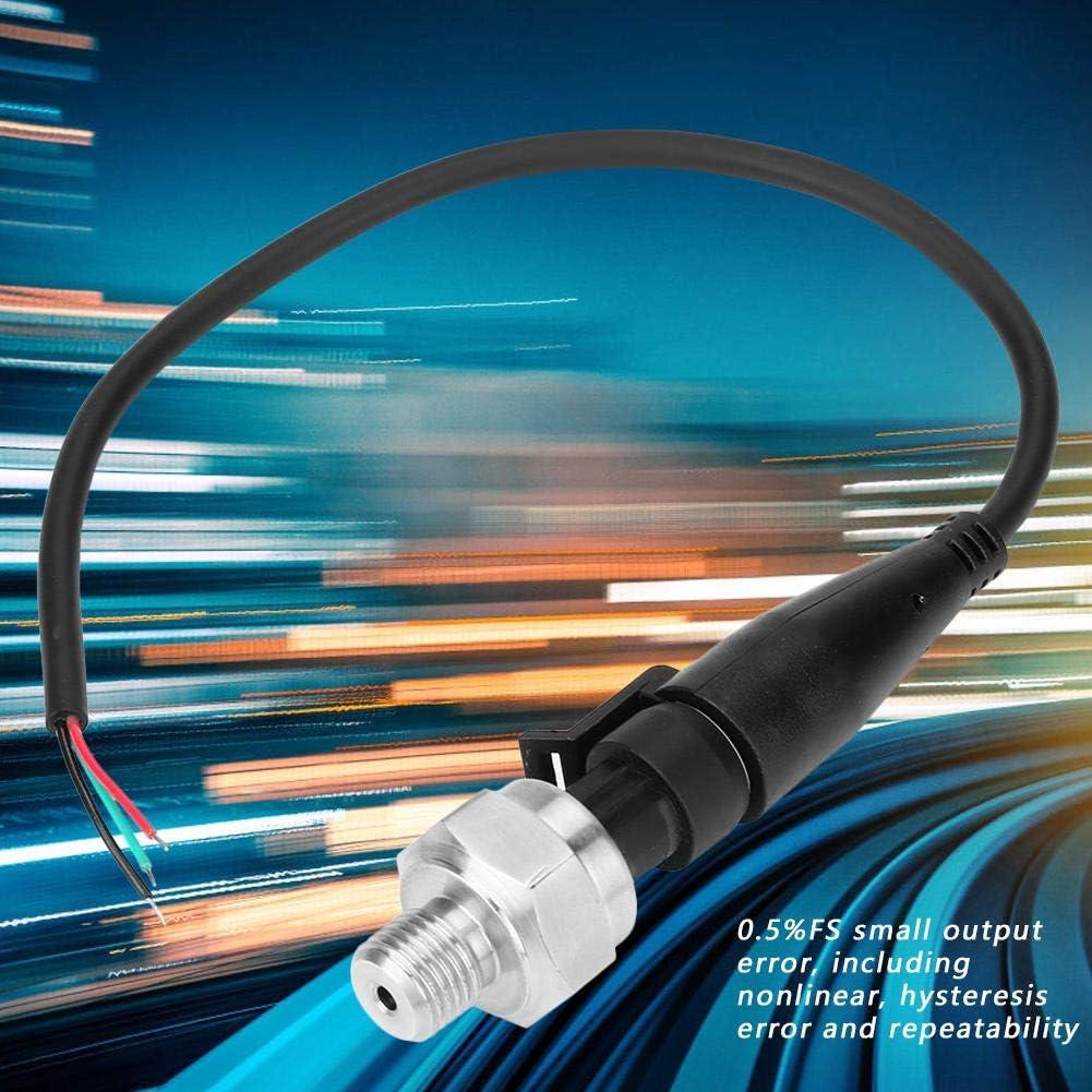 G1//4capteur de transducteur de pression 0-300PSI capteur de pression dacier inoxydable de CC 5V pour le diesel de gazole air-eau
