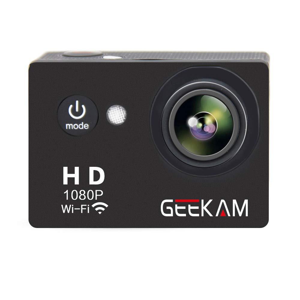 Ergou Action Kamera 1080 P Unterwasser DV HD Wasserdichte Reiten Tauchen Outdoor Digitalkamera Wifi Mini Reise Außenkamera