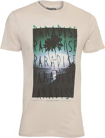Volcom Skate Wizard SS Lightweight Camiseta, Hombre, Blanco ...
