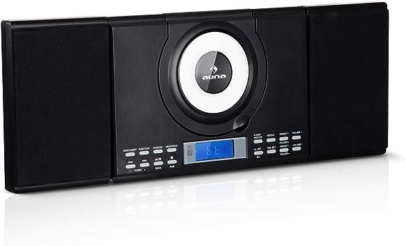auna Wallie Microsystem - Equipo estéreo , Microcadena , 2 ...