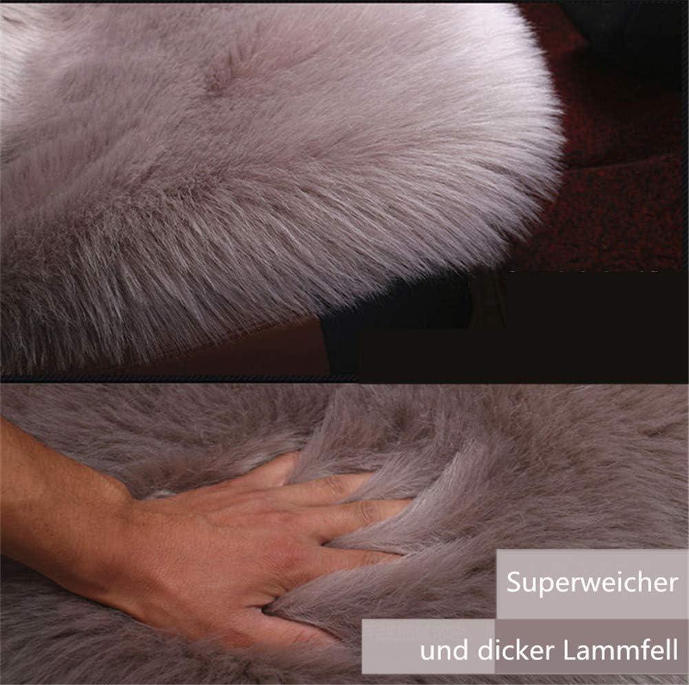 Pink Martin Kench Lammfellbezug Auto Sitzbezug Wolle Schaffell Autositzbezug Sitzauflage Lammfell Vordersitzbezug