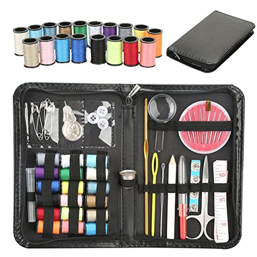 Professional Travel Sewing Kit Bundle with Accessories for Adults,Beginners,Students,Emergency