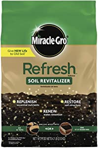 Miracle-Gro Refresh 1 Soil Revitalizer 4.7 lbs (Only Available in Ca, fl, Il)
