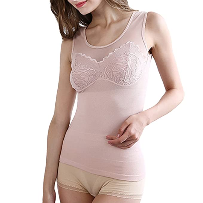 Zhhlinyuan ropa interior térmica mujer Soft Comfortable Seamless Body Shaper Lingerie Clothing Vest Underwear Ladies Beauty