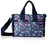 LeSportsac Women's Mini Weekender, Bell Berry Blue