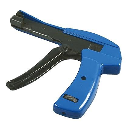 HALOTEC Pistola tensadora y cortadora de bridas. Tensor para bridas de nylon universal