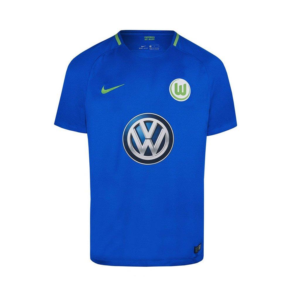 the latest 85f9a 4b093 Amazon.com : Nike 2017-2018 VFL Wolfsburg Away Football ...