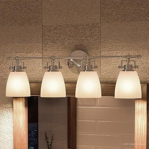 Luxury Industrial Bathroom Vanity Light, Large Size: 9.5\