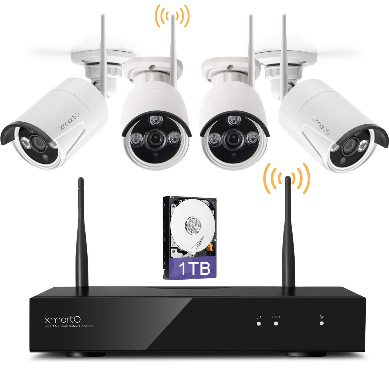amazoncom audio video xmarto auto pair 8ch 960p hd expandable